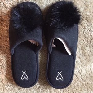 Victoria Secret Sleep Pom Slippers